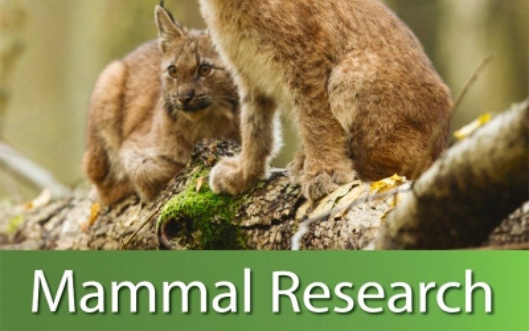 Increase of Mammal Research Impact Factor!