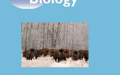 05.08.2019 – Bison photo on the cover of the Global Change Biology