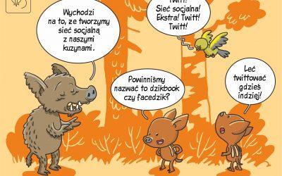 Faceboar czy boarbook? Sieci socjalne u dzików