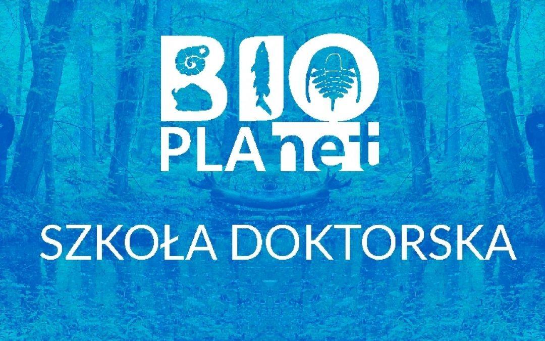 Szkoła Doktorska BioPlanet rozpoczęła działalność