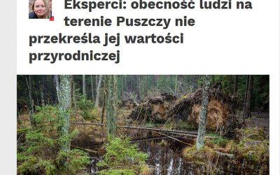 24.10.2019 – Nauka w Polsce o naturalności Puszczy Białowieskiej