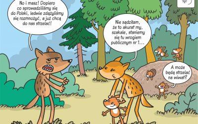 06.04.2020 – Komiks naukowy o rozrodzie szakali w Polsce!