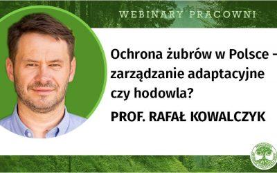 07.05.2020 – Webinar o ochronie żubrów w Polsce
