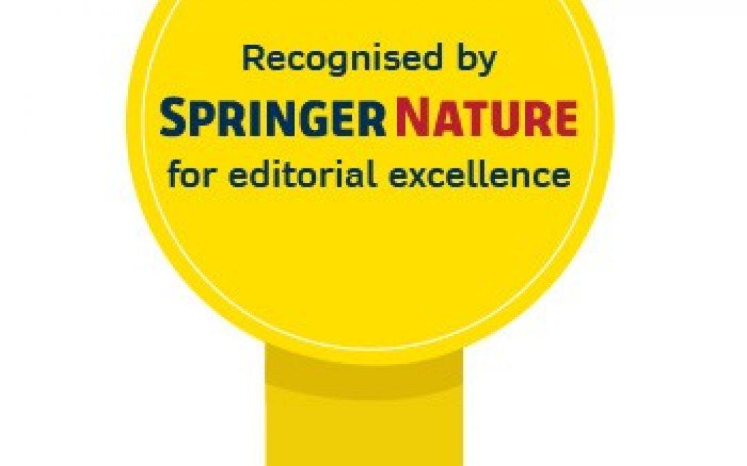 05.06.2020 – Redakcja czasopisma Mammal Research wśród najlepszych w wydawnictwie Springer