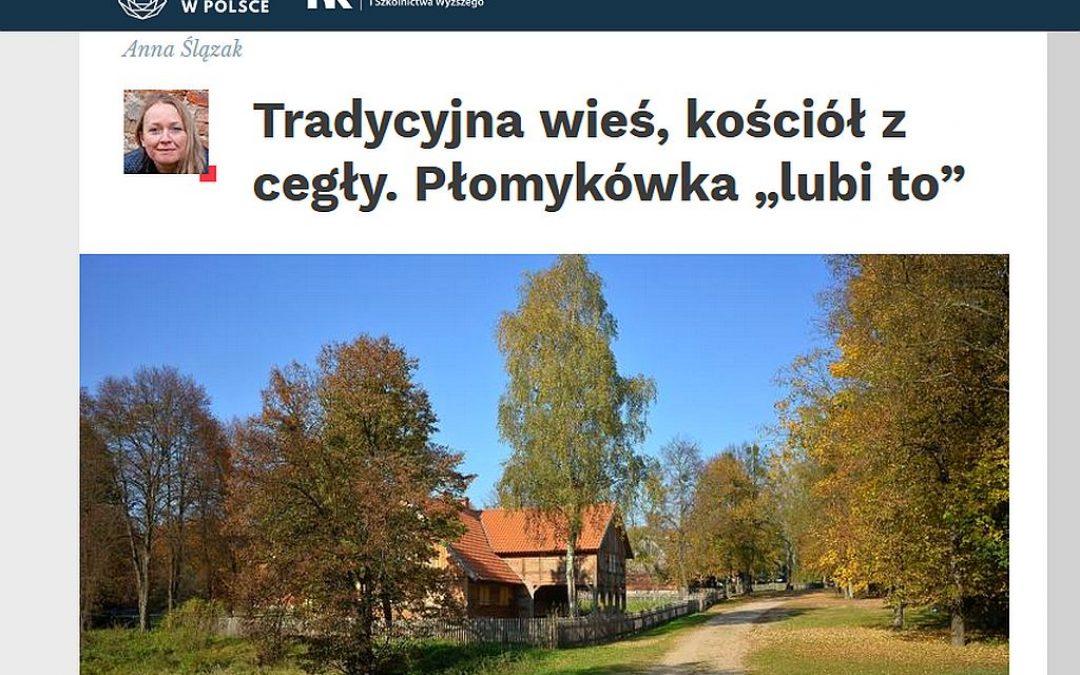 25.07.2020 – Płomykówki wolą tradycyjne wsie